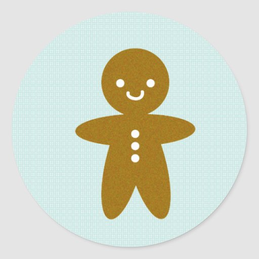 Gingy Rutherford Classic Round Sticker