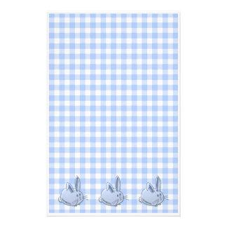ginham y conejitos azules  papeleria