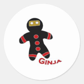 Ginja Classic Round Sticker