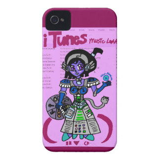 ginjinka itunes iPhone 4 Case-Mate case