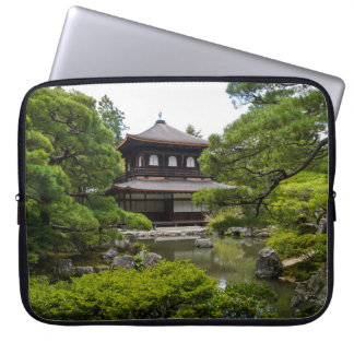 Ginkaku-ji (Silver Pavillion), Kyoto Laptop Computer Sleeves