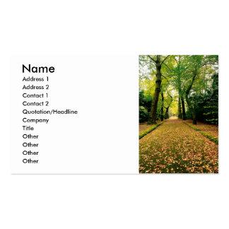 Ginkgo Biloba trees Business Card Templates