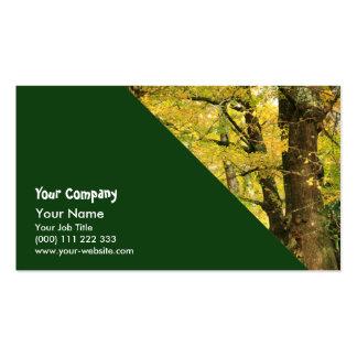 Ginkgo Biloba trees Business Cards