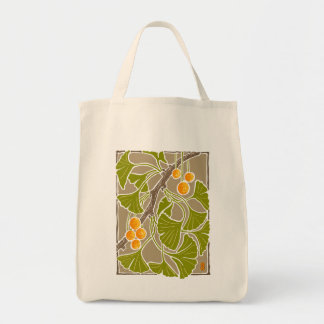 Ginkgo Dance Block Print Bags