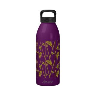 ginkgo del oro botella de agua