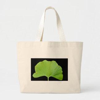 Ginkgo (Ginkgo biloba) leaf Jumbo Tote Bag