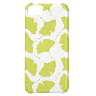 Ginkgo Ginko Biloba Green Leaves iPhone 5C Case