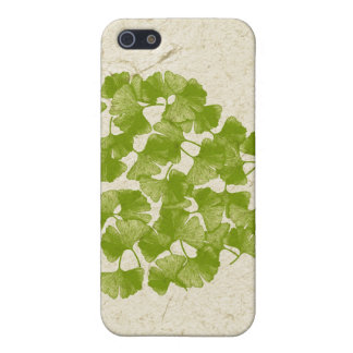 Ginkgo Leaf Heart Cover For iPhone SE/5/5s