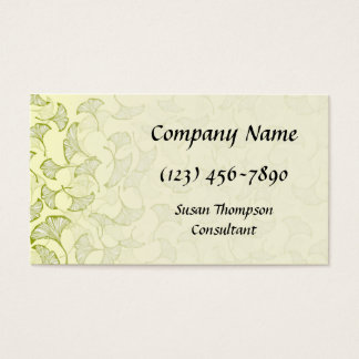 Ginkgo Leaves 2 Business Card