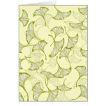 Ginkgo Leaves Card