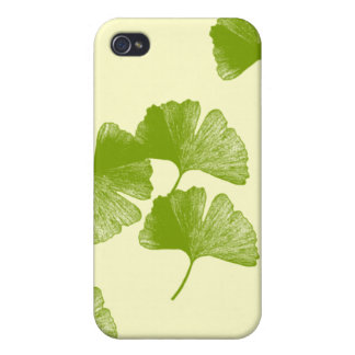Ginkgo Leaves iPhone 4 Covers