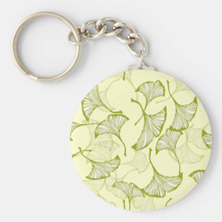 Ginkgo Leaves Keychains