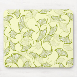 Ginkgo Leaves Mouse Pad