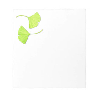 Ginkgo Leaves Notepad