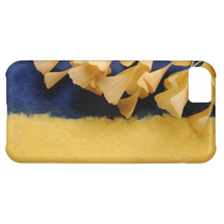 ginkgo leaves on texture iPhone 5 tough case Case For iPhone 5C