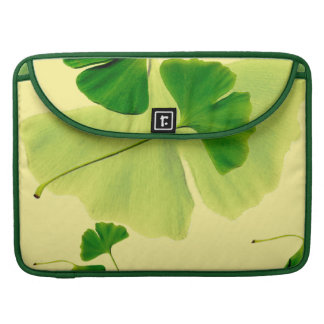 Ginkgo Leaves Sleeves For MacBook Pro