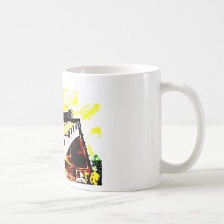 Ginkgo of brocade band bridge of a certain day* coffee mug