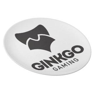 Ginkgo Plato De Comida