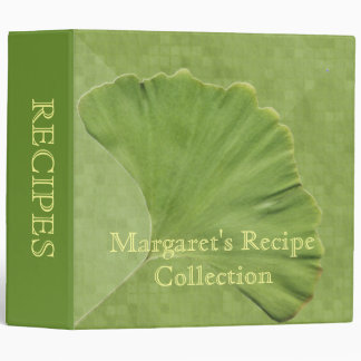 Ginkgo Recipe Binder