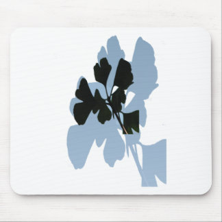 Ginko Biloba leaves against Sky Mouse Pad