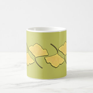 Ginko Fall Leaf Coffee Mug
