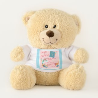 Ginnie & Geneva - Best Friends Are the BEST! Teddy Bear