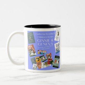 Ginnie & Geneva - Timeless Book Series Two-Tone Co Two-Tone Coffee Mug