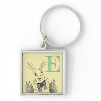 Ginny Pearl, the art of Sande Elkins Keychain