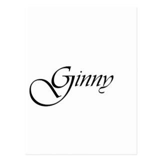 Ginny Postcard