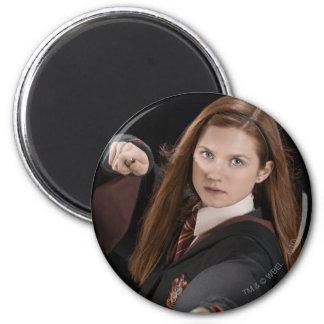 Ginny Weasley 2 Inch Round Magnet