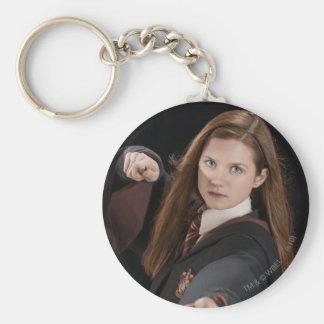 Ginny Weasley Basic Round Button Keychain