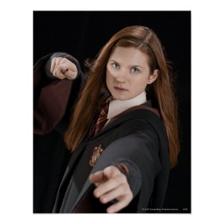 Ginny Weasley print