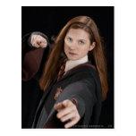 Ginny Weasley Tarjeta Postal