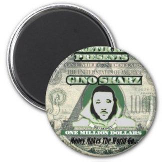 Gino Skarz 2 Inch Round Magnet