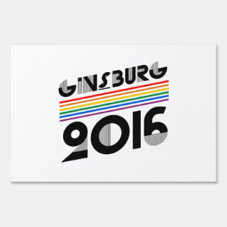 Ginsburg Pride 2016 Sign