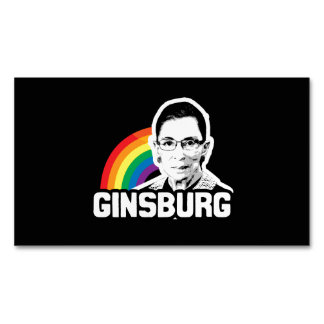 Ginsburg Pride Magnetic Business Cards (Pack Of 25)