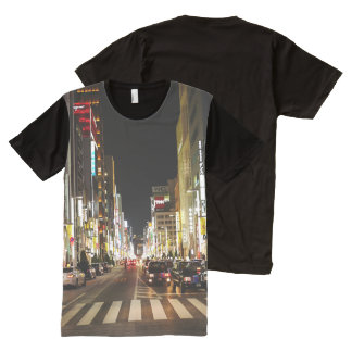Ginza Crossing All-Over-Print Shirt