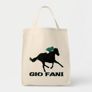 Gio Ponti Fan Grocery Tote Bag