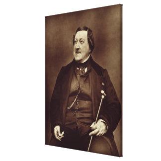 Gioacchino Rossini (1792-1868) de 'Galerie Conte Lienzo Envuelto Para Galerías