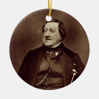 Gioacchino Rossini (1792-1868) from 'Galerie Conte Ceramic Ornament