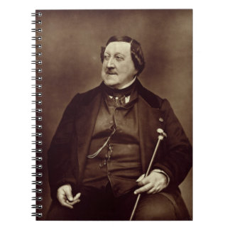 Gioacchino Rossini (1792-1868) from 'Galerie Conte Spiral Notebook