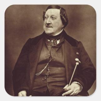 Gioacchino Rossini (1792-1868) from 'Galerie Conte Square Sticker