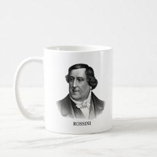 Gioachino Rossini, black Coffee Mug
