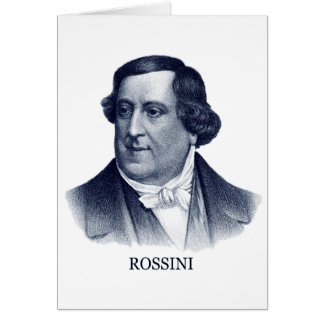 Gioachino Rossini, blue Card