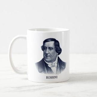 Gioachino Rossini, blue Coffee Mug