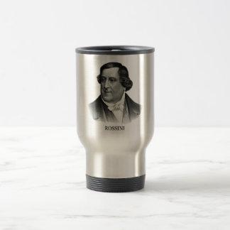 Gioachino Rossini negro Taza De Café