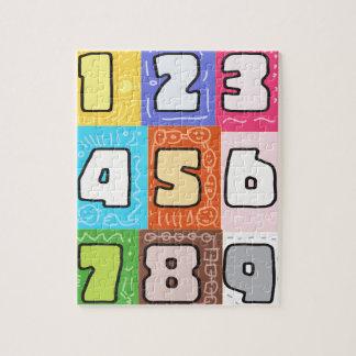 gioco di numeri rompecabeza