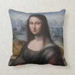 "Gioconda ""del Prado Museum"" - da Vinci (1510-1515) Almohada"
