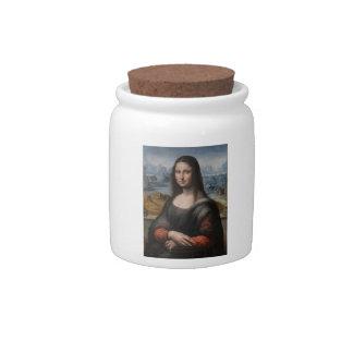 "Gioconda ""del Prado Museum"" - da Vinci (1510-1515) Plato Para Caramelo"
