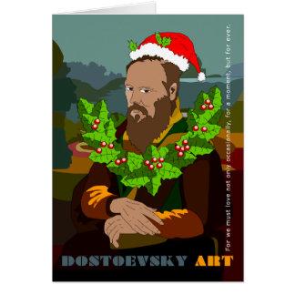 """Gioconda"" Dostoevsky Art Note Card"